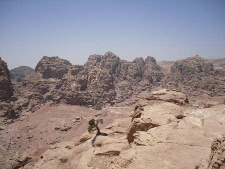 The Hills of the Jordanian Desert, Near Petra.