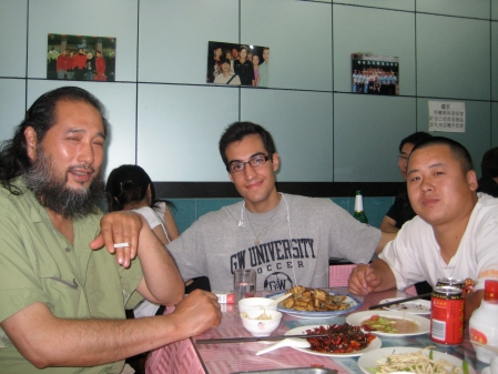 Dinner in Beijing, China  Photo: Bobak Tavangar